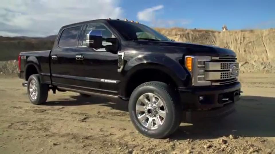 2017 Ford F-250 Super Duty Makes Brief Online Appearance
