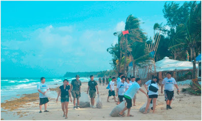 HTC Says Let's Clean Boracay Island