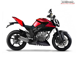 Honda Tiger Modification - Street Fighter Style