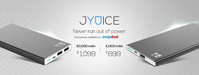 YU Jyuice Launches on Snapdeal