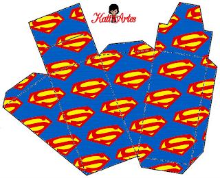 Caja de Superman.