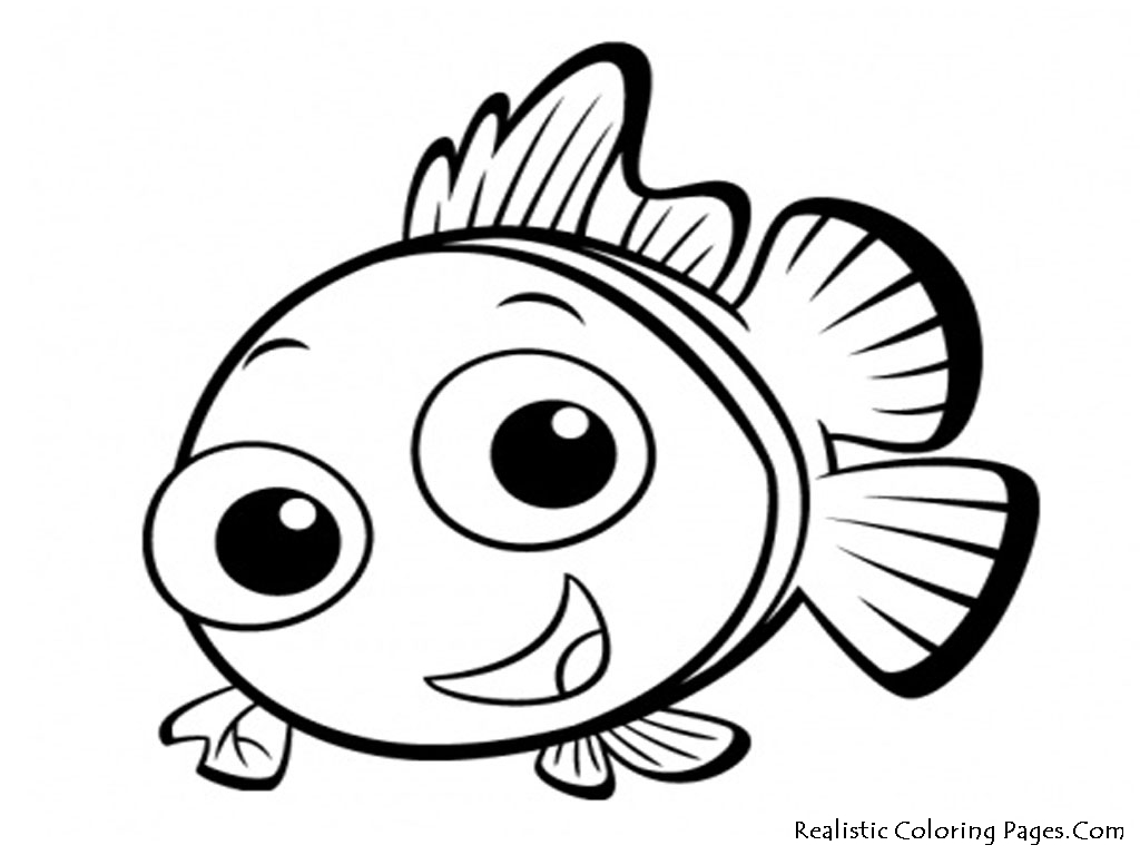 Free coloring pages of for fish for Printable fish coloring pages