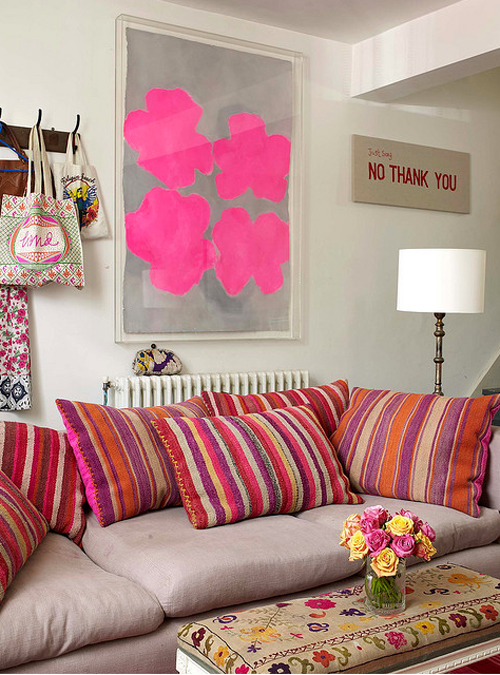 Creative Influences: OTT Decor and Tons of Color