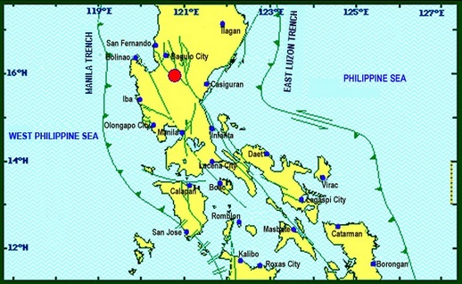 Metro Manila and parts of Luzon, shaken by earthquakes