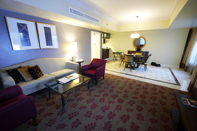 Ascott Makati Living Room