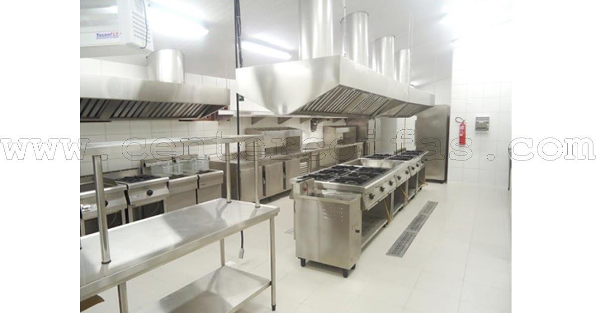 Center coifas como montar uma cozinha industrial projetamos o seu neg cio - Estufa para habitacion pequena ...