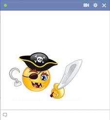 Pirate Emoticon