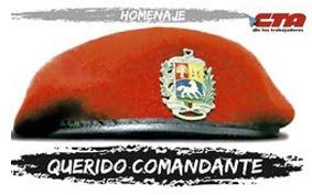 HOMENAJE AL COMANDANTE CHAVEZ