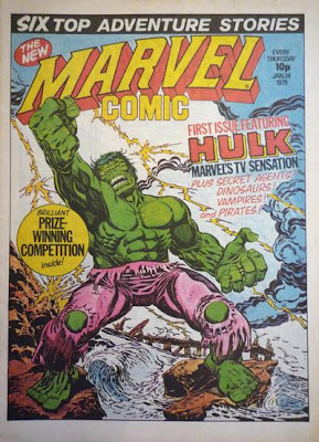 Marvel Comic #330, UK