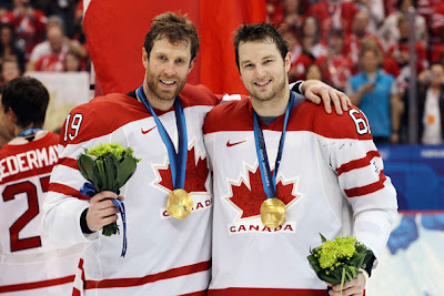 Rick Nash Canada Joe Thornton