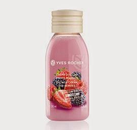 Crème douche fruits rouges Yves Rocher