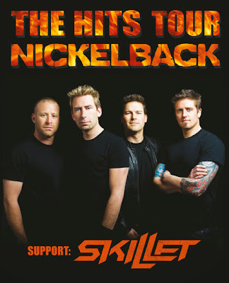 Nickelback Live Report Rock'n'Live 2013 Bercy Concert The Hits Tour Skillet Chad Kroeger How You Remind Me