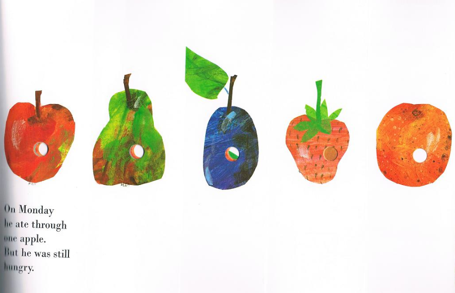 Book Design - Cover to Cover: The Very Hungry Caterpillar