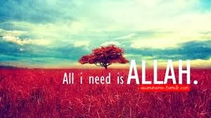 Only You Allah