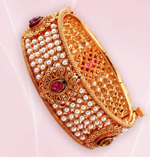 Beautiful Pearl Bangles Designs 2012