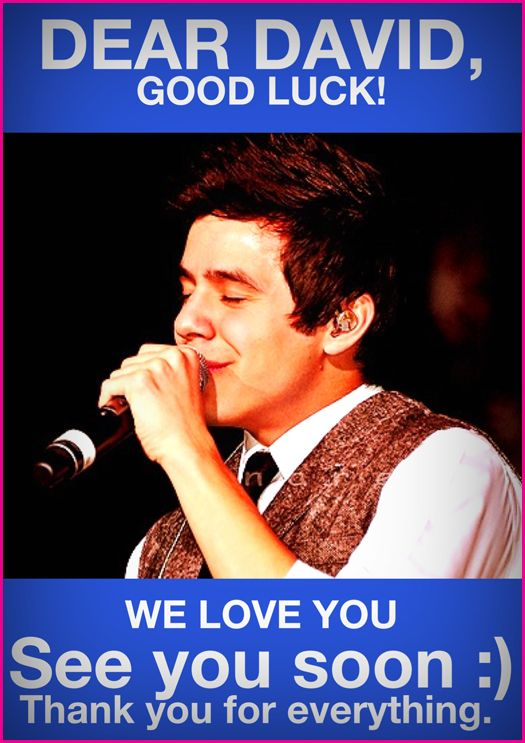 for David Archuleta keep
