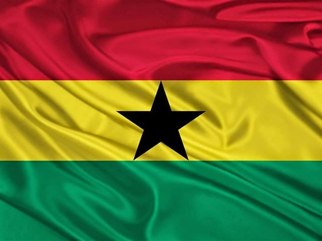 علم غانا