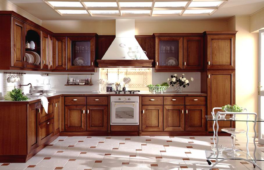 you should provide kitchen cabinets because they make your kitchen an ...