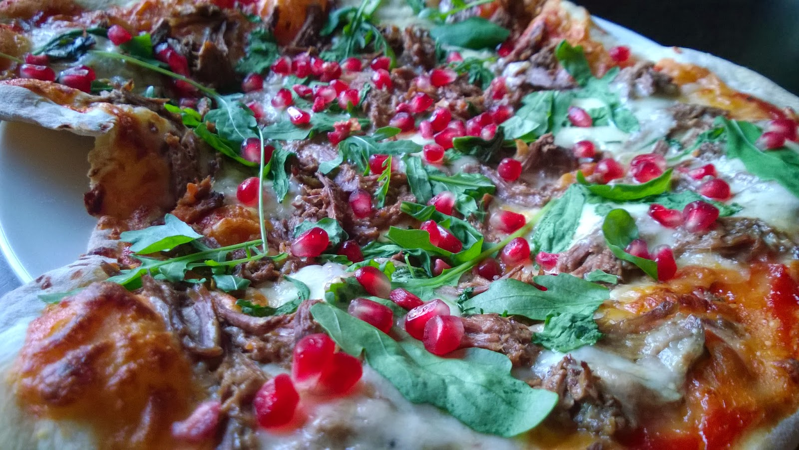 Pulled Lamb pizza
