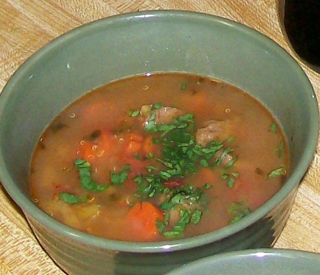 Glo's Kitchen: Beef, Potato & Quinoa Soup