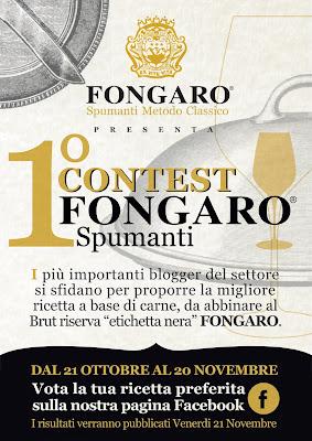 Partecipo al 1° Contest Fongaro Spumanti