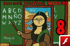 Parodias de Pinturas Famosas 8