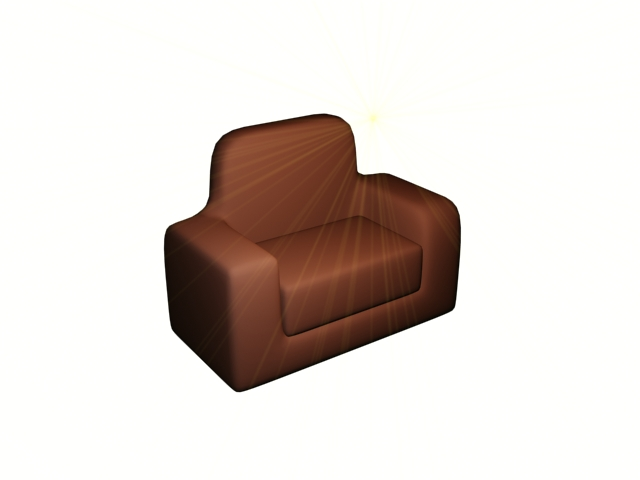 armchair design - 3dmax tutorials