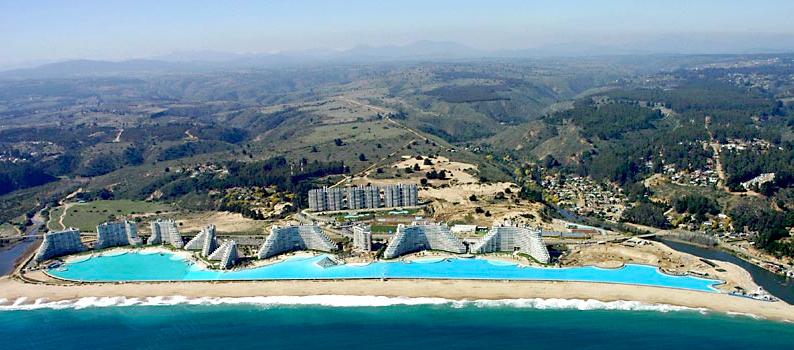 Kolam Renang Terluas Di Dunia (Luas 8 Hektar)