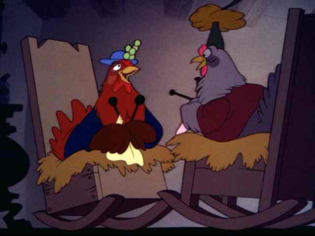 "Disney's ""Chicken Little"" Cartoon from 1943"