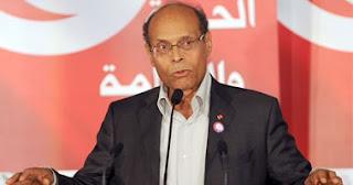 الرئيس التونسى المنصف المرزوقى