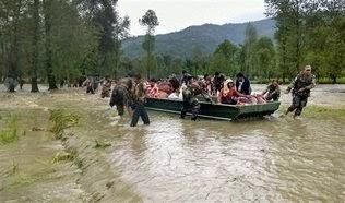 LAS LLUVIAS DEL MONZON DEJAN 128 MUERTOS EN PAKISTAN Y 108 EN INDIA, 06 de  Septiembre 2014