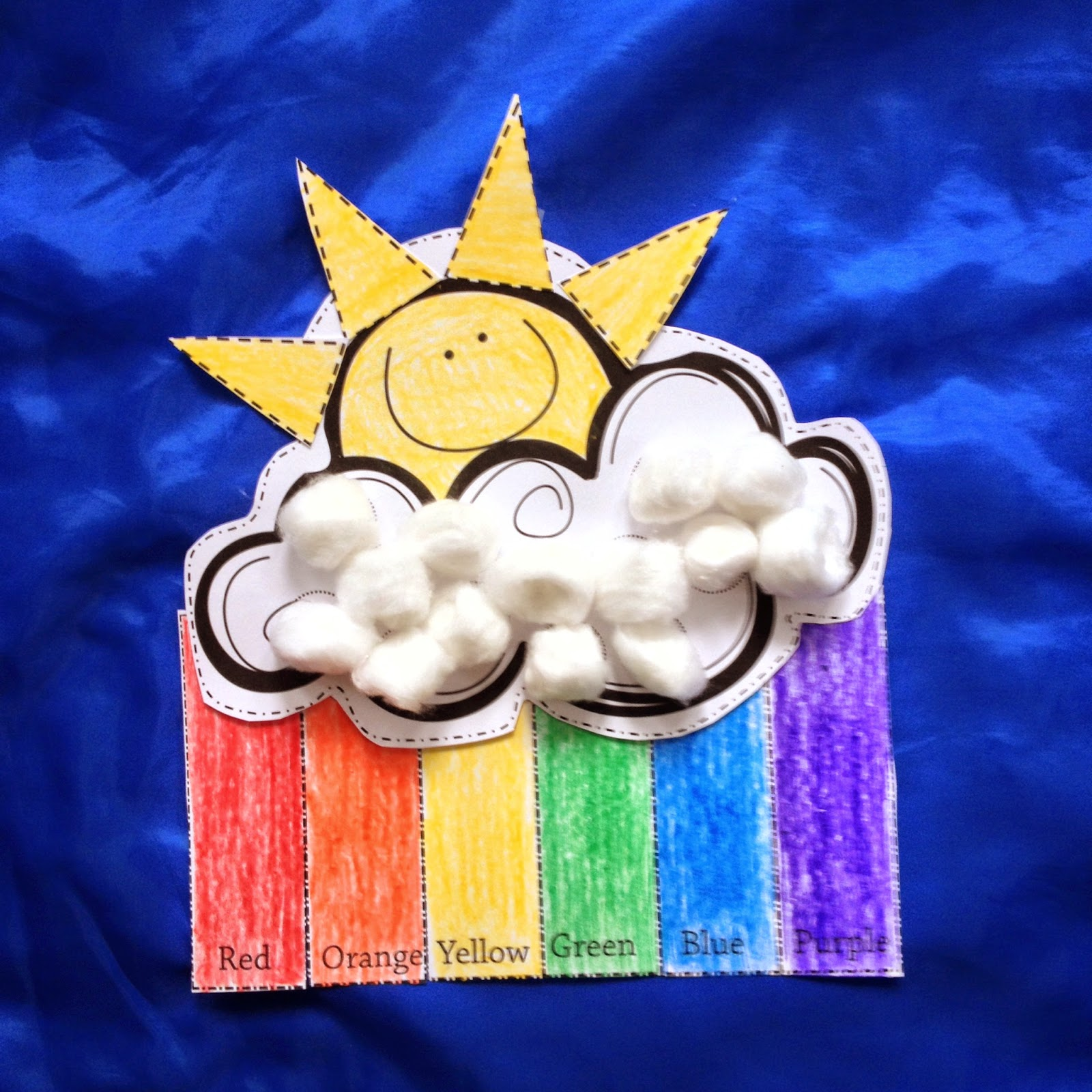 weather crafts for preschoolers