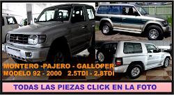 MONTERO-PAJERO-GALLOPER