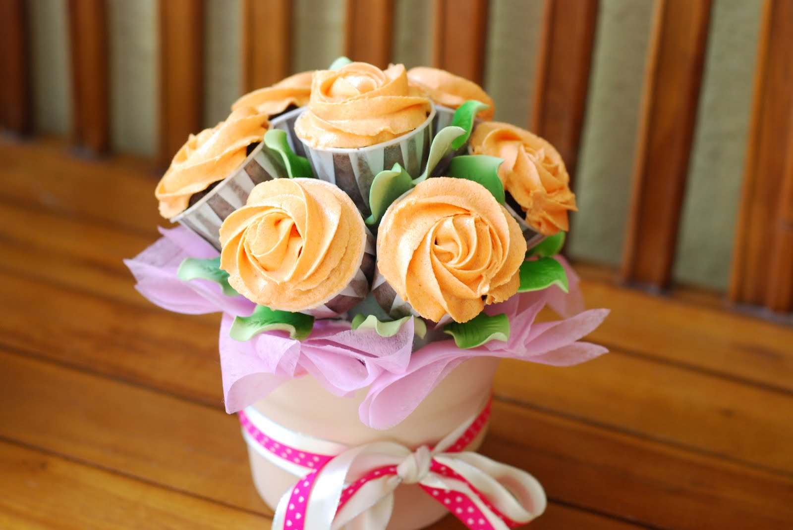 Cupcakes Confetti: Flower Pot Cake 01