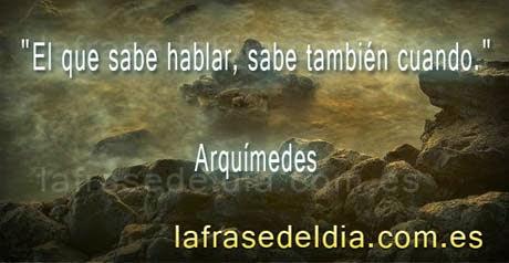 Mensajes de Arquímedes
