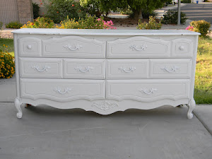 White Shabby Chic Dresser  *SOLD*