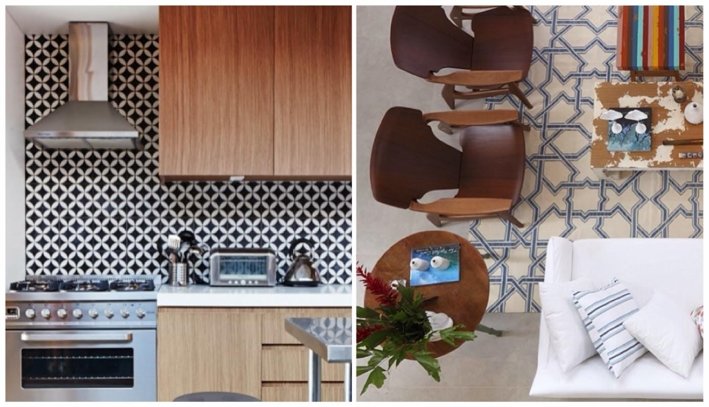 P&B na cozinha @casadevalentina e tapete @inhousedesigners