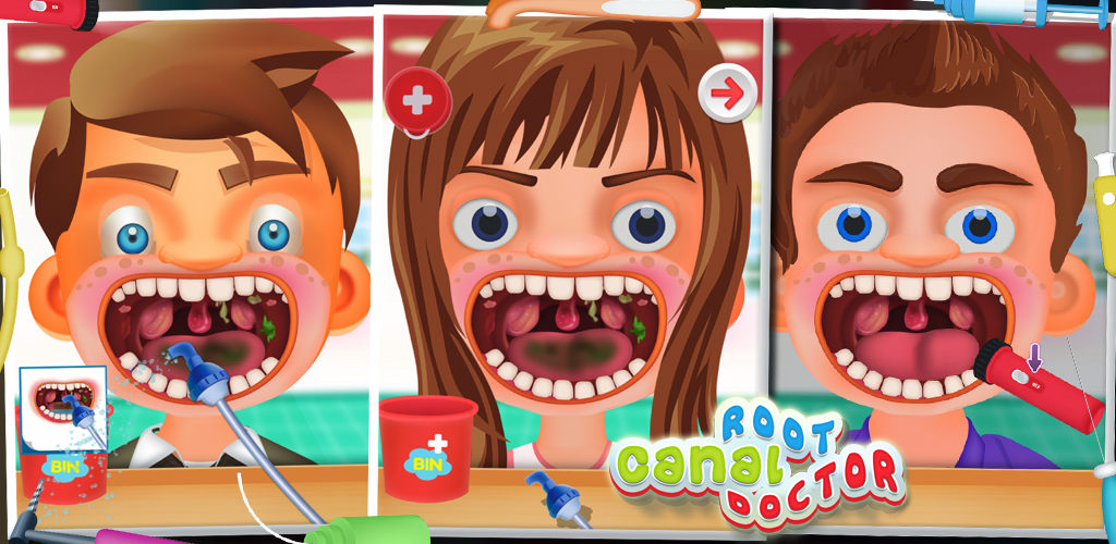 kids root canal - kids game
