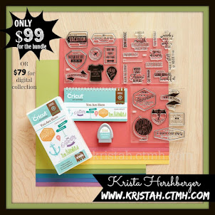 "We have 4 Cricut Cartridge Bundles!!  Check out our newest ""YOU ARE HERE"" Cricut cartridge! :"