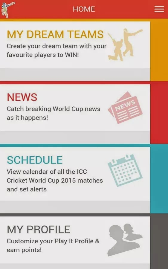 ICC Cricket World Cup 2015 Fantasy Android App released+Download 1