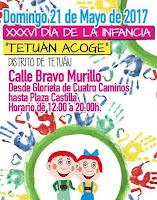 XXXVI Día de la Infancia 'Tetuán acoge'