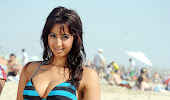 Sanjana at beach spicy masala bikini photo gallery