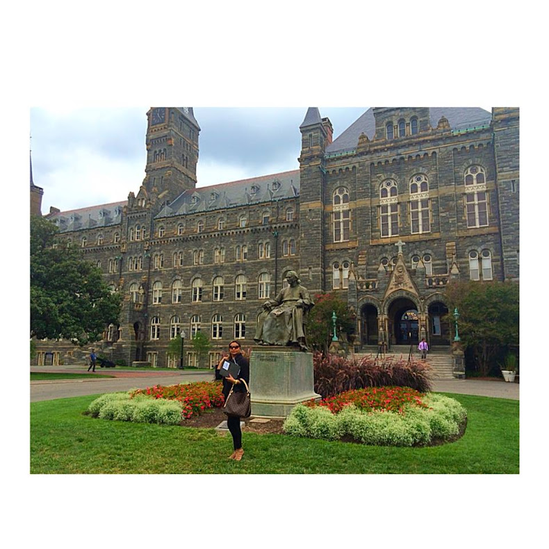 Em Washington D.C./ Georgetown University