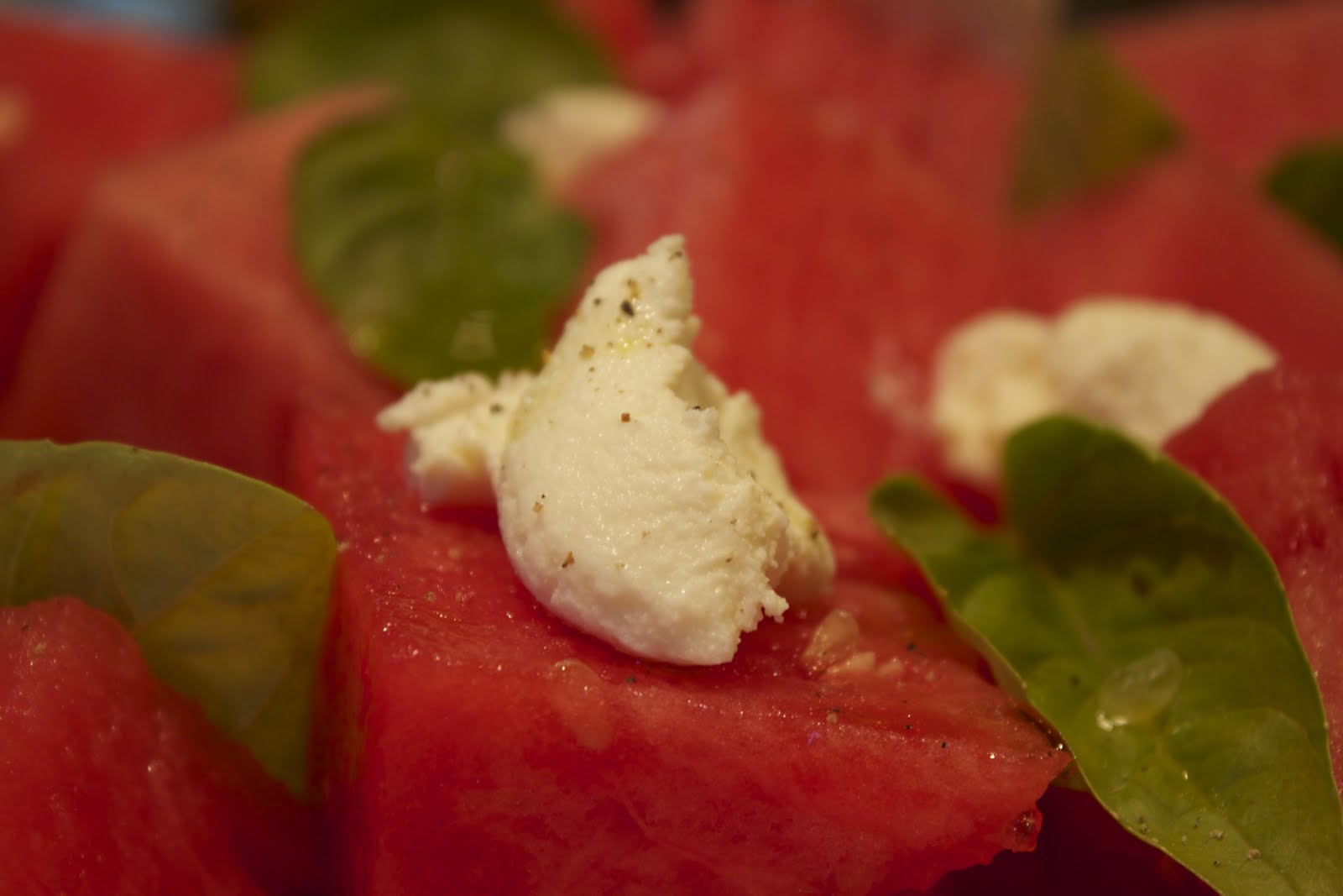 BORN AND BREAD: Watermelon Ricotta Salata
