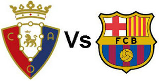 Barcelona VS Osasuna Live Stream, Online, Highlights, 2012 | Watch Live HD TV