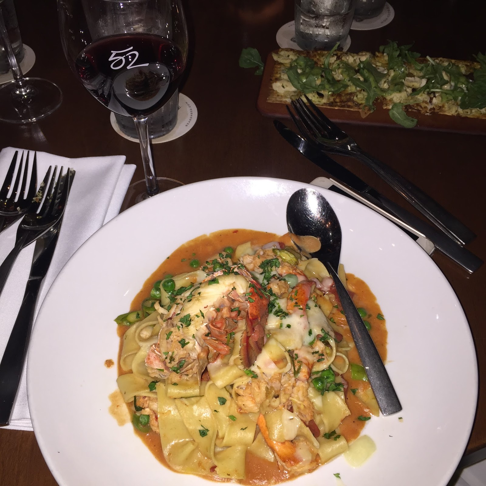Seasons 52 Houston Pasta