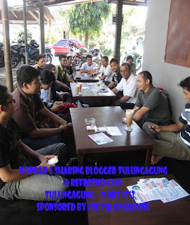 Gathering And Share - Blogger Tulungagung 2013