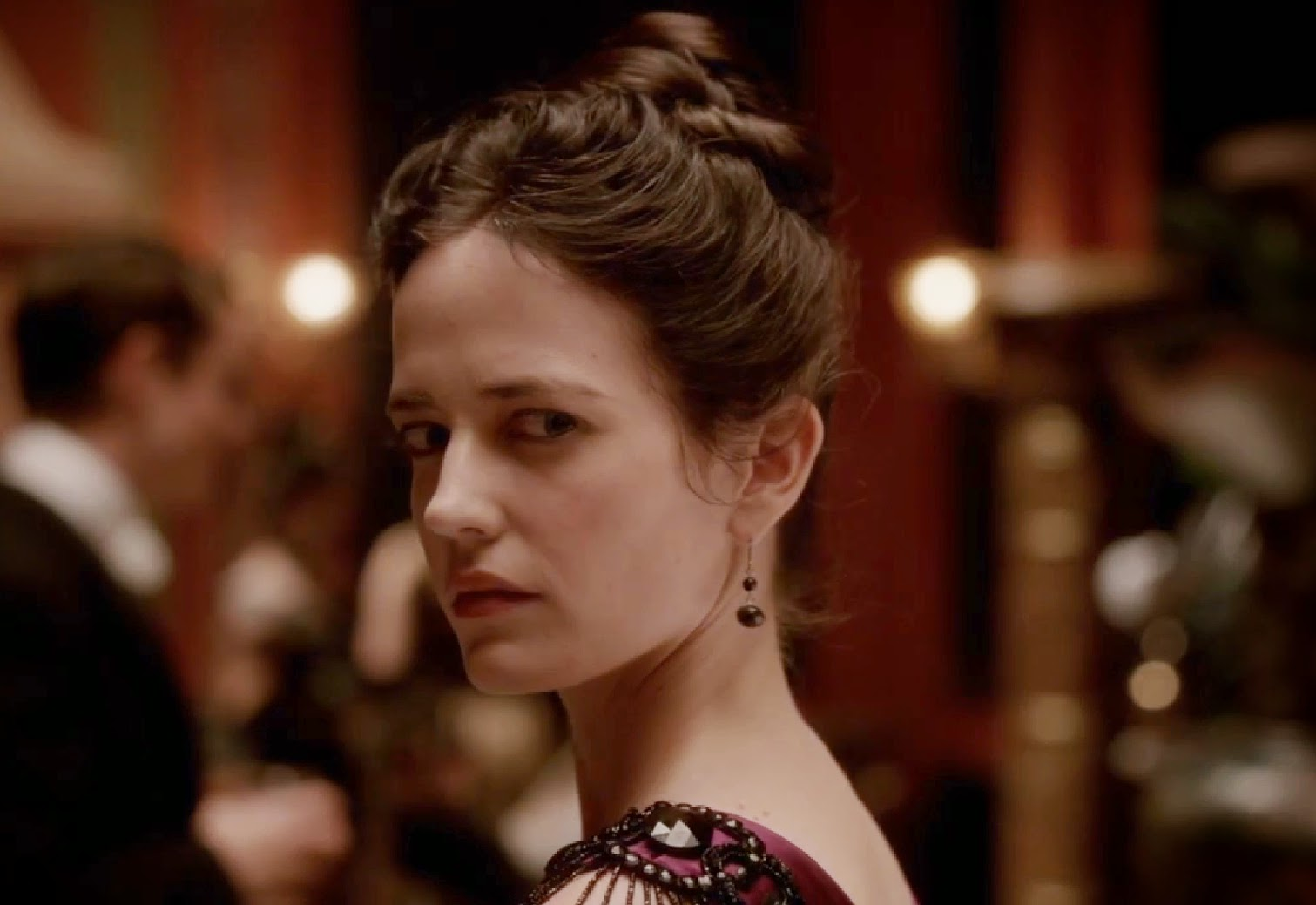 Penny Dreadful Vanessa Ives Showtime wicked eyes stare pictures photos screencaps