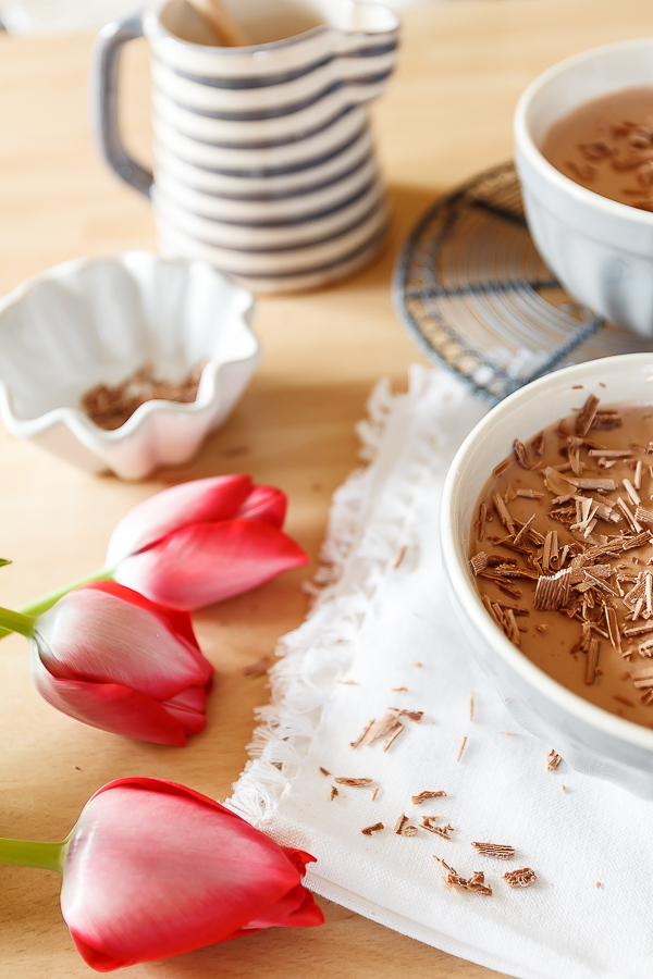 Amalie loves Denmark Schokoladenmousse mit Agar Agar