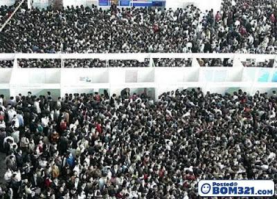 Suasana Pameran Kerjaya Di China